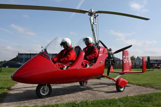 L'expérience Gyrocopter Manchester