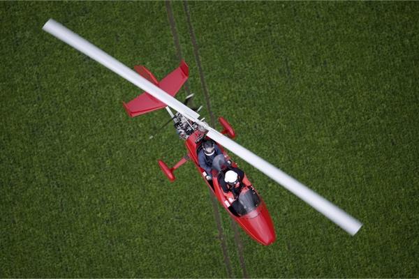 La experiencia de Gyrocopter Basingstoke