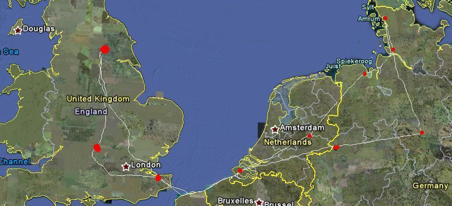 4 Gyro Pilots Tour Europe