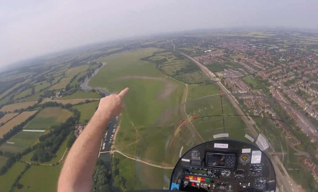 Volo per Drayton St Leonard