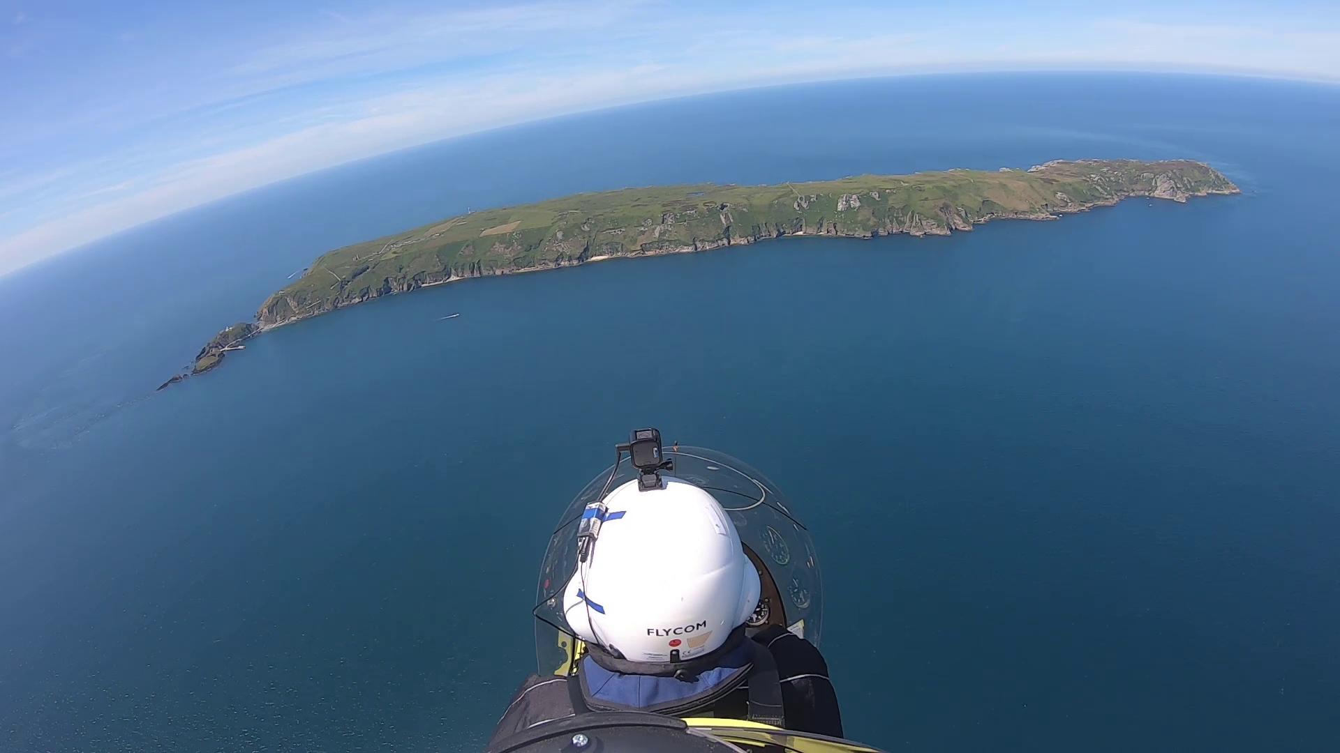 Unvergesslicher Flug nach Lundy Island