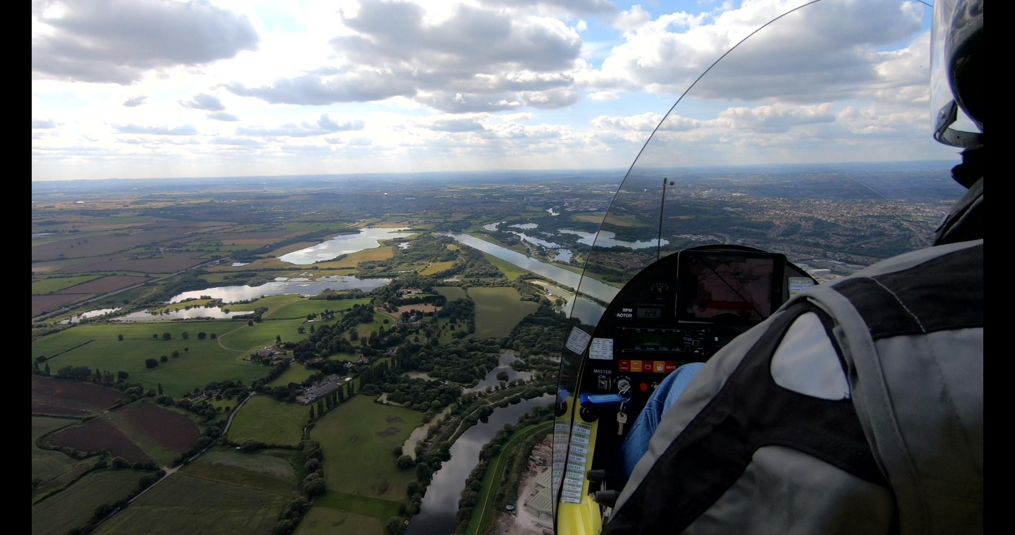 Circuito di rientro a Nottingham City Airport Circuit settembre 2019