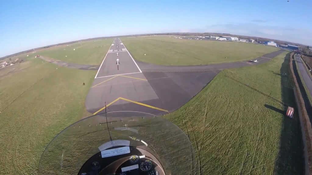 Vol pour l'aéroport d'Oxford