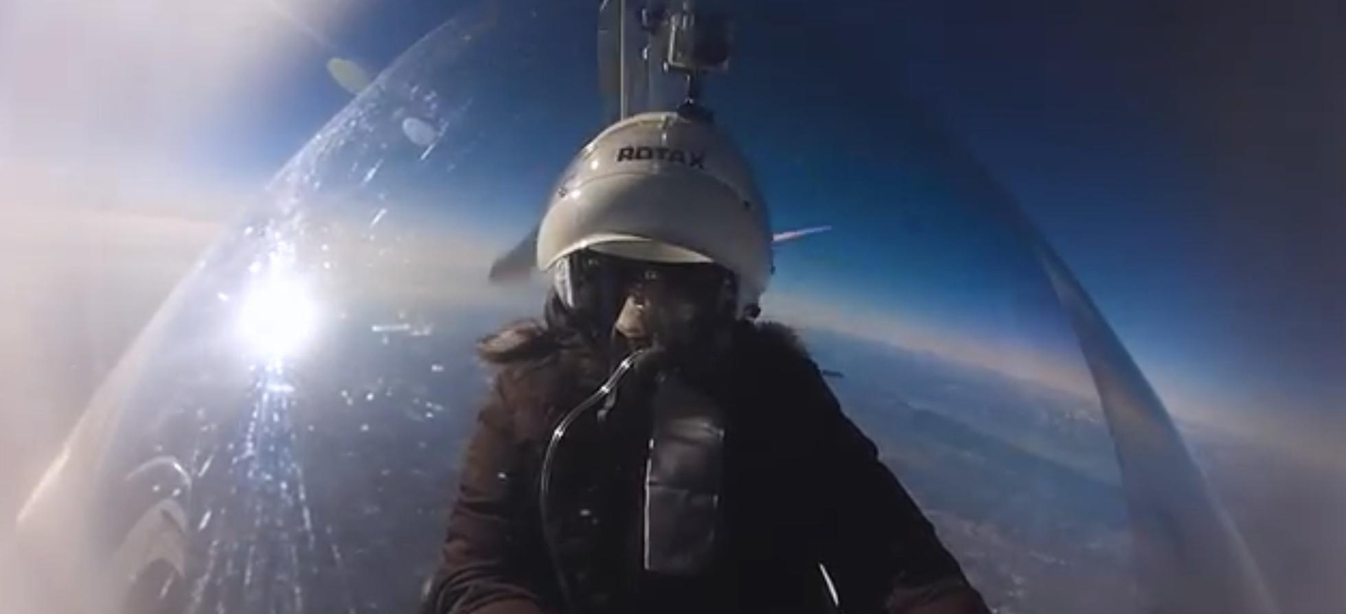 Record mondiale di altitudine con Magni M16