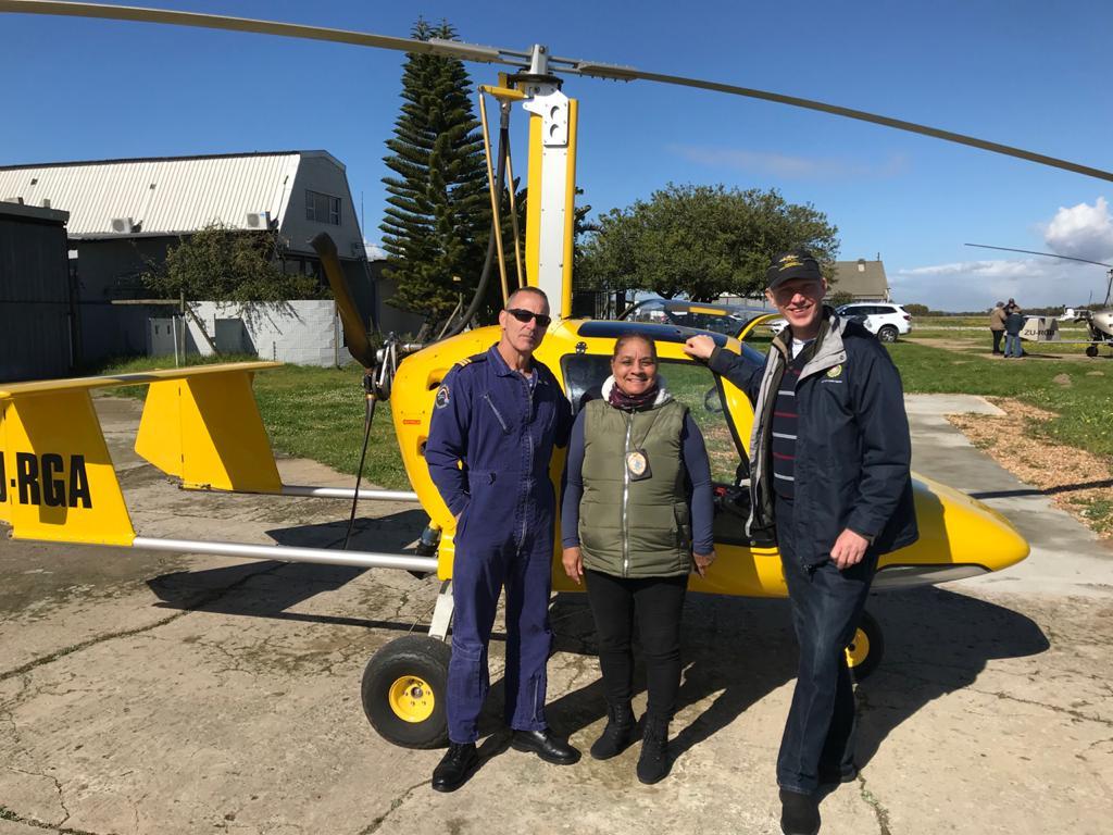 Avion gyroscopique pour la promotion de la loi