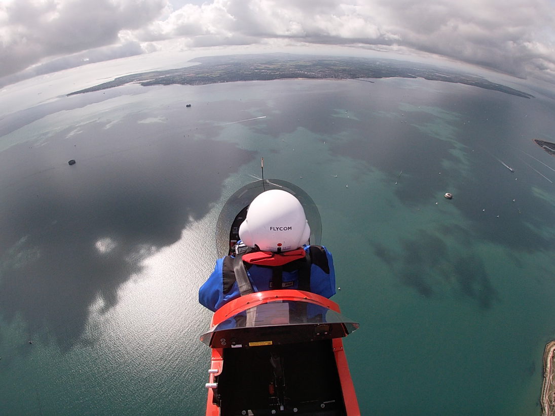 A Magnificent Flight in a Magni M-16 to Sandown, Isle of Wight