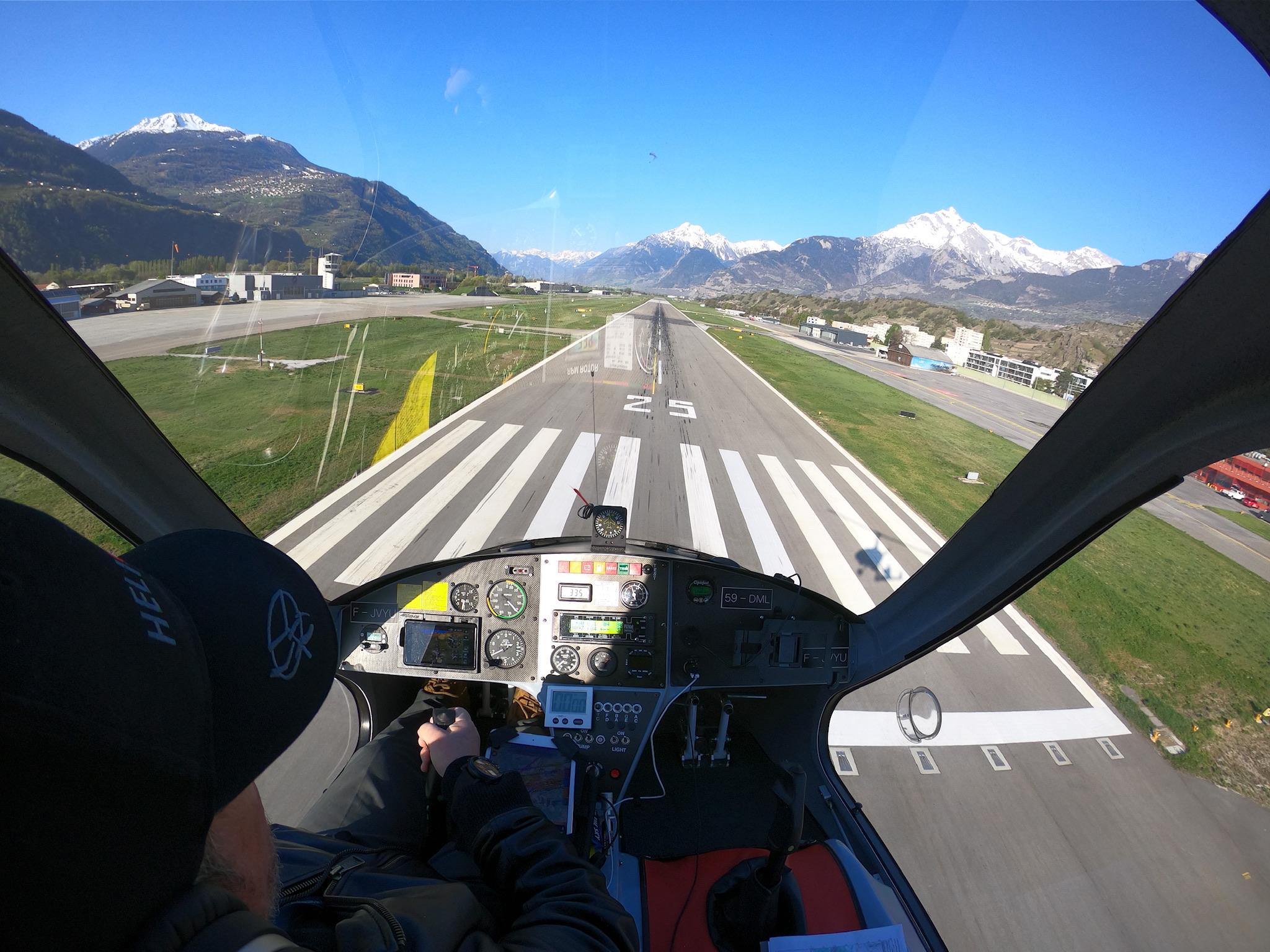 Ein Flug über die 4 Täler in der Schweiz