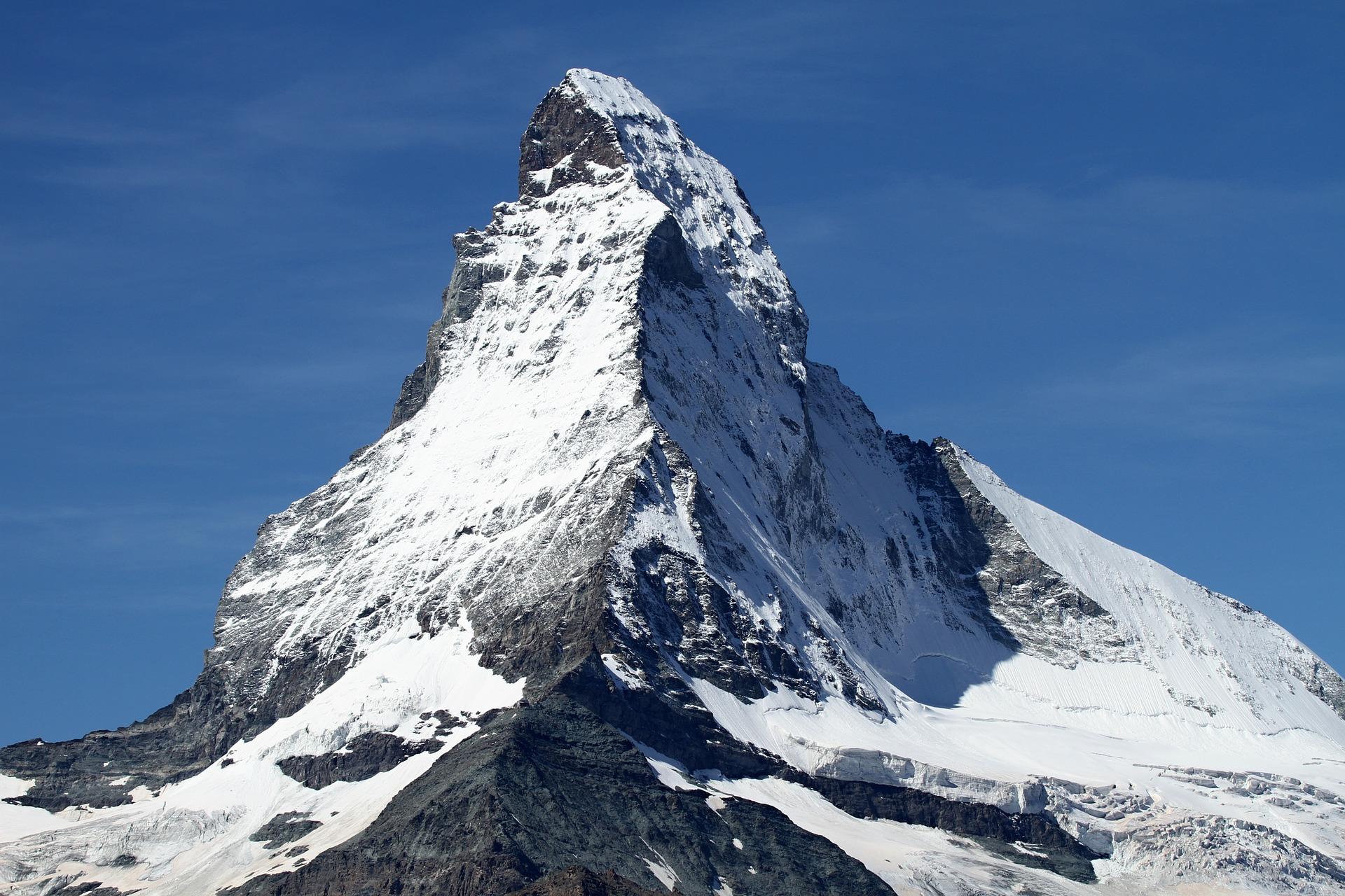 A Flight up to the Matterhorn at 12,000 feet